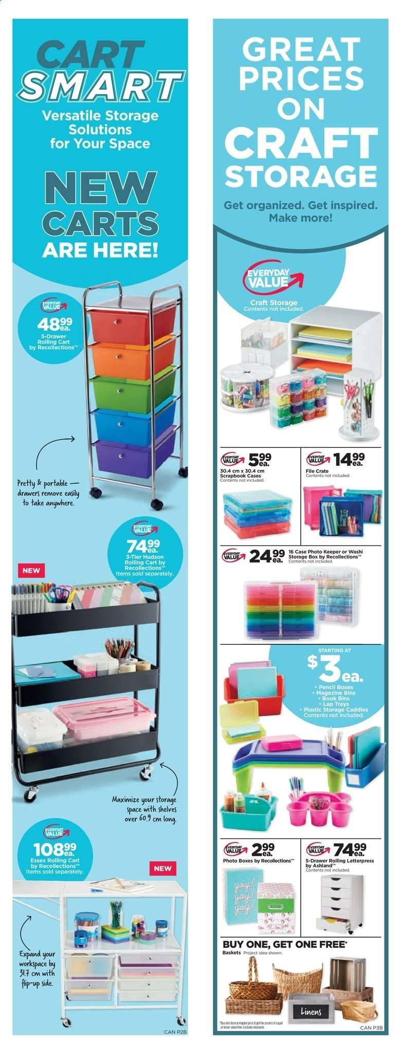 Current Michaels flyer July 19, 2019 - July 25, 2019 | Ca
