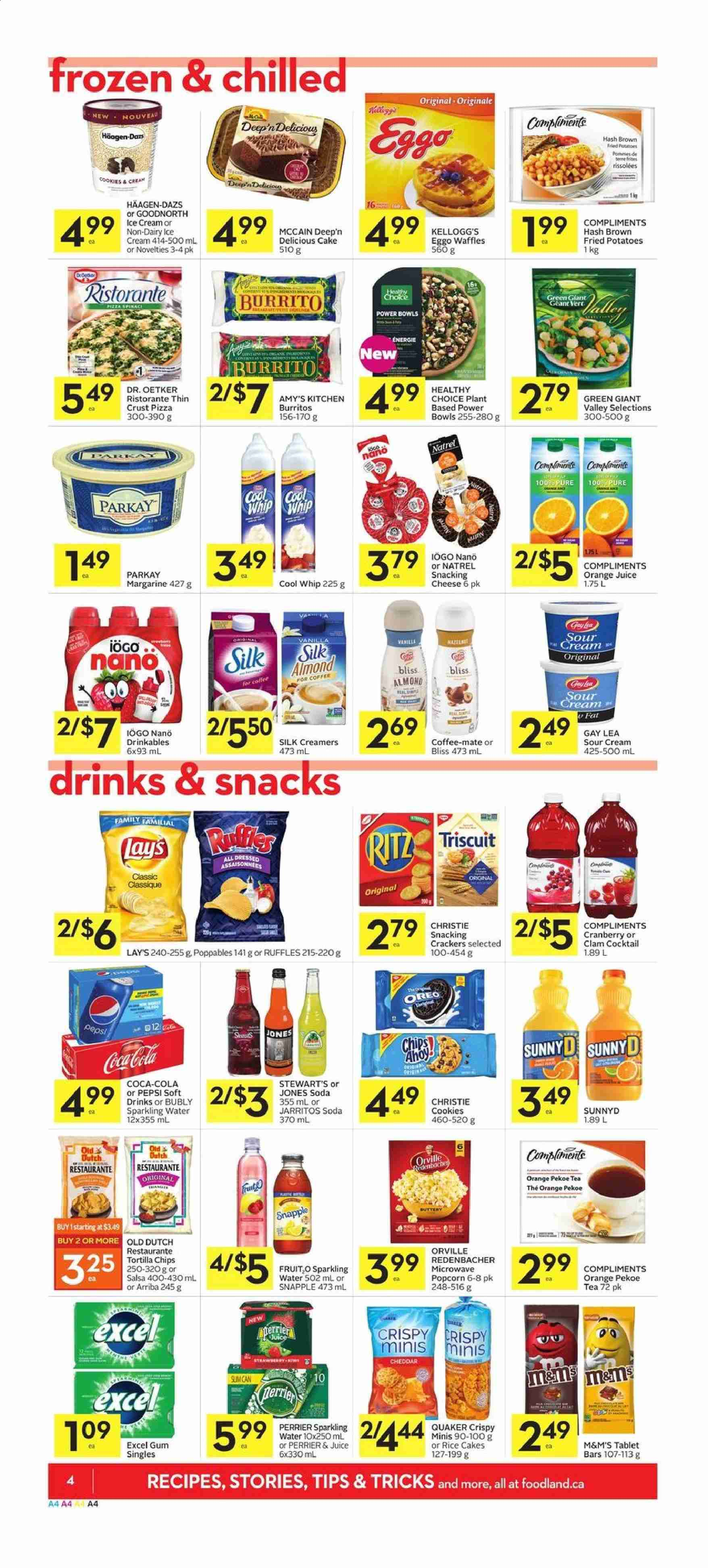 Foodland Flyer  - July 18, 2019 - July 24, 2019. Page 4.
