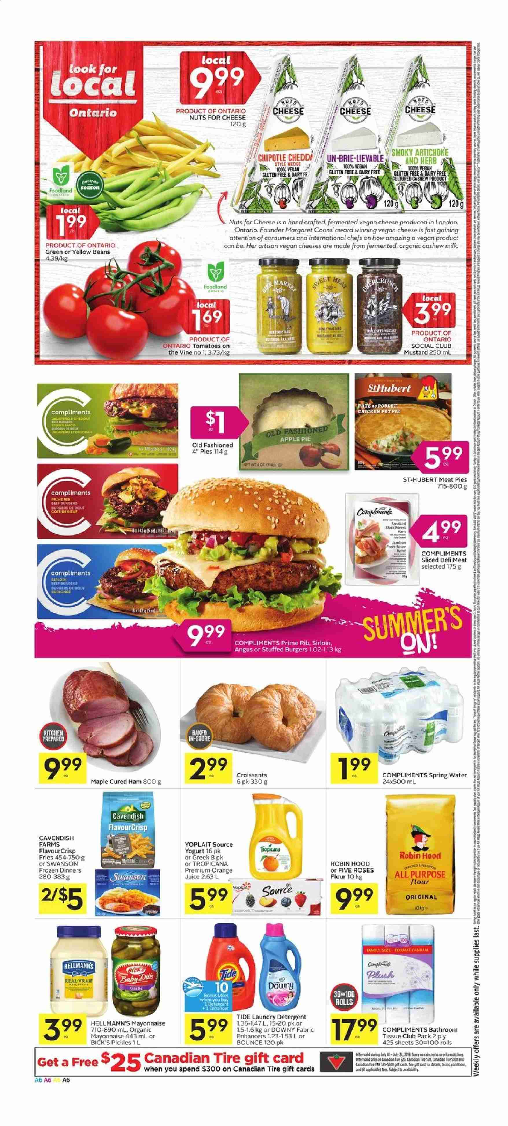 Foodland Flyer  - July 18, 2019 - July 24, 2019. Page 6.