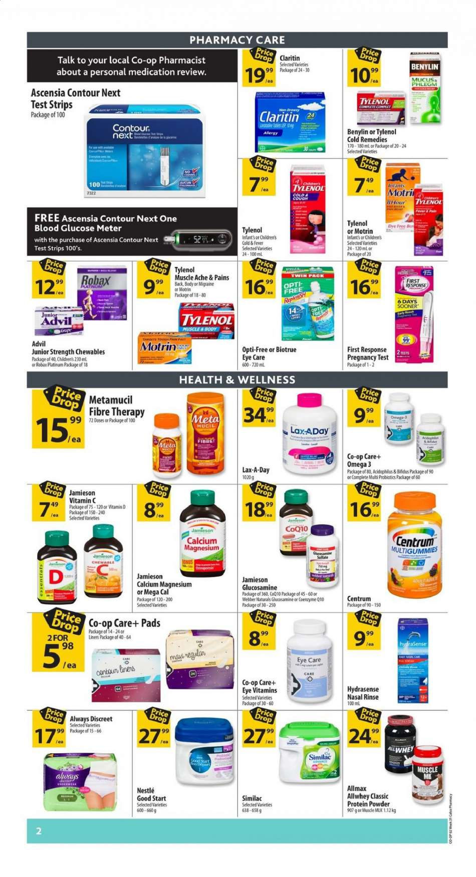 Current Calgary Co-op flyer July 25, 2019 - August 14, 2019