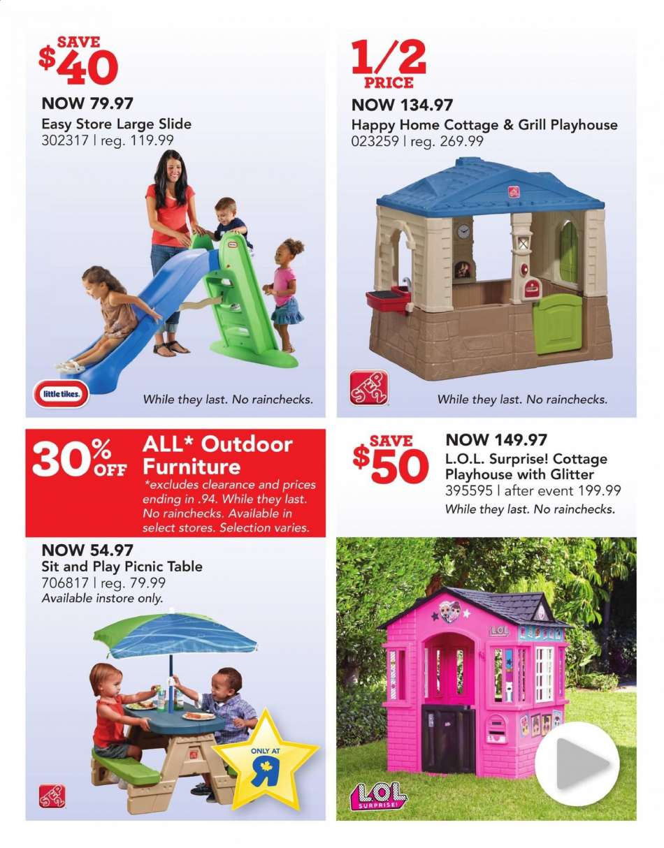 Cur Toys R Us Flyer July 26 2019 August 01