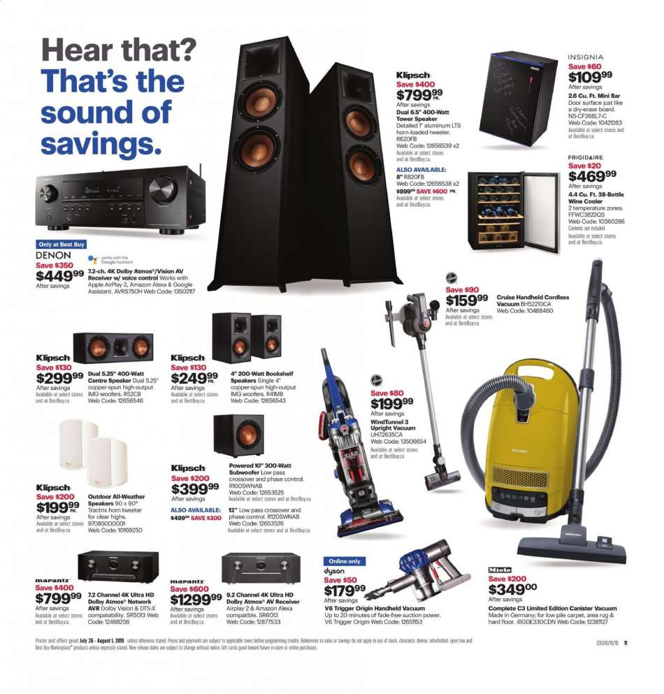 Current Best Buy flyer July 26, 2019 - August 01, 2019 | Ca
