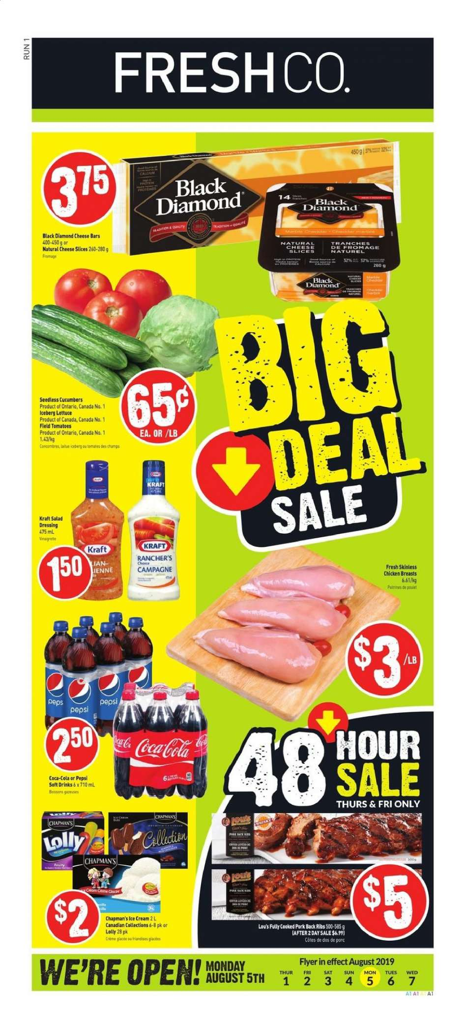Current FreshCo  flyer August 01, 2019 - August 07, 2019