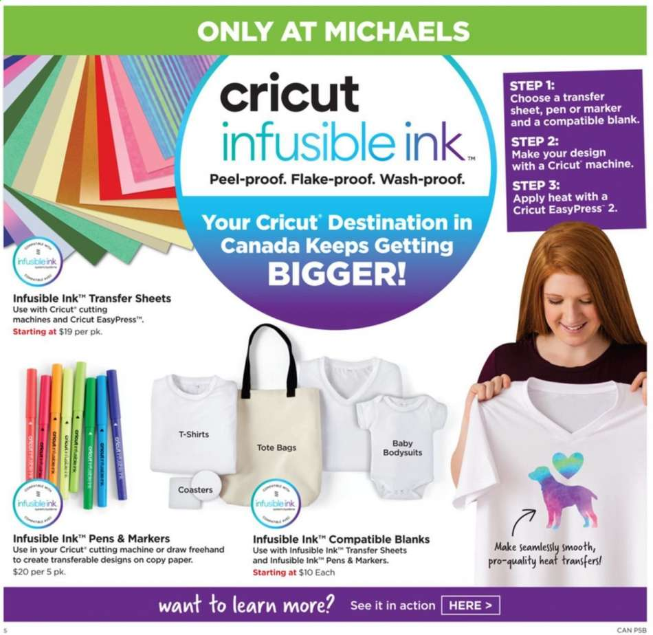 Current Michaels flyer August 02, 2019 - August 08, 2019 | Ca-flyers com
