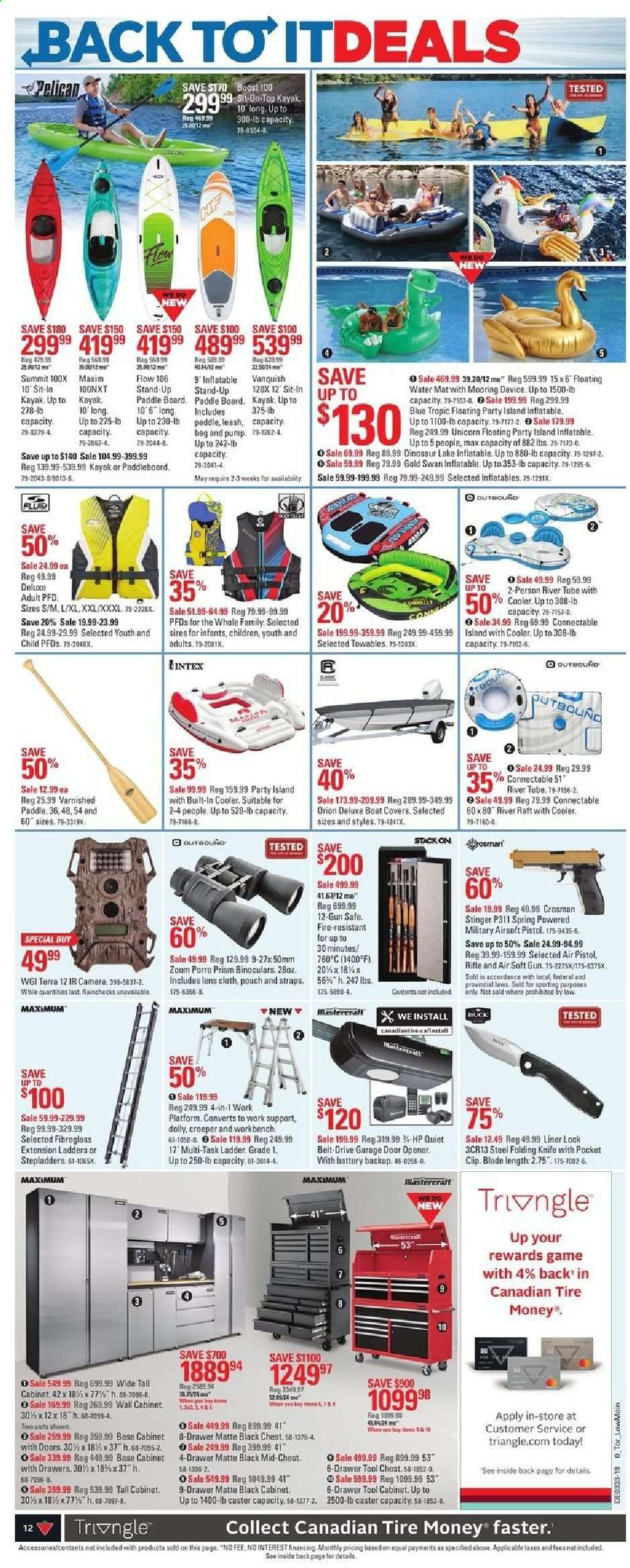 Current Canadian Tire flyer August 08, 2019 - August 15, 2019 | Ca
