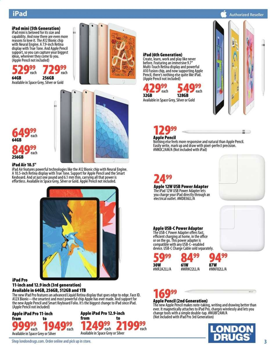 Current London Drugs flyer August 09, 2019 - August 28, 2019   Ca