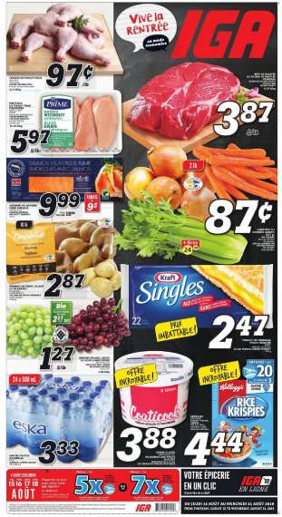 IGA - flyers, coupons, stores near me and opening hours | Ca