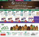 Healthy Planet Flyer - August 15, 2019 - September 11, 2019.