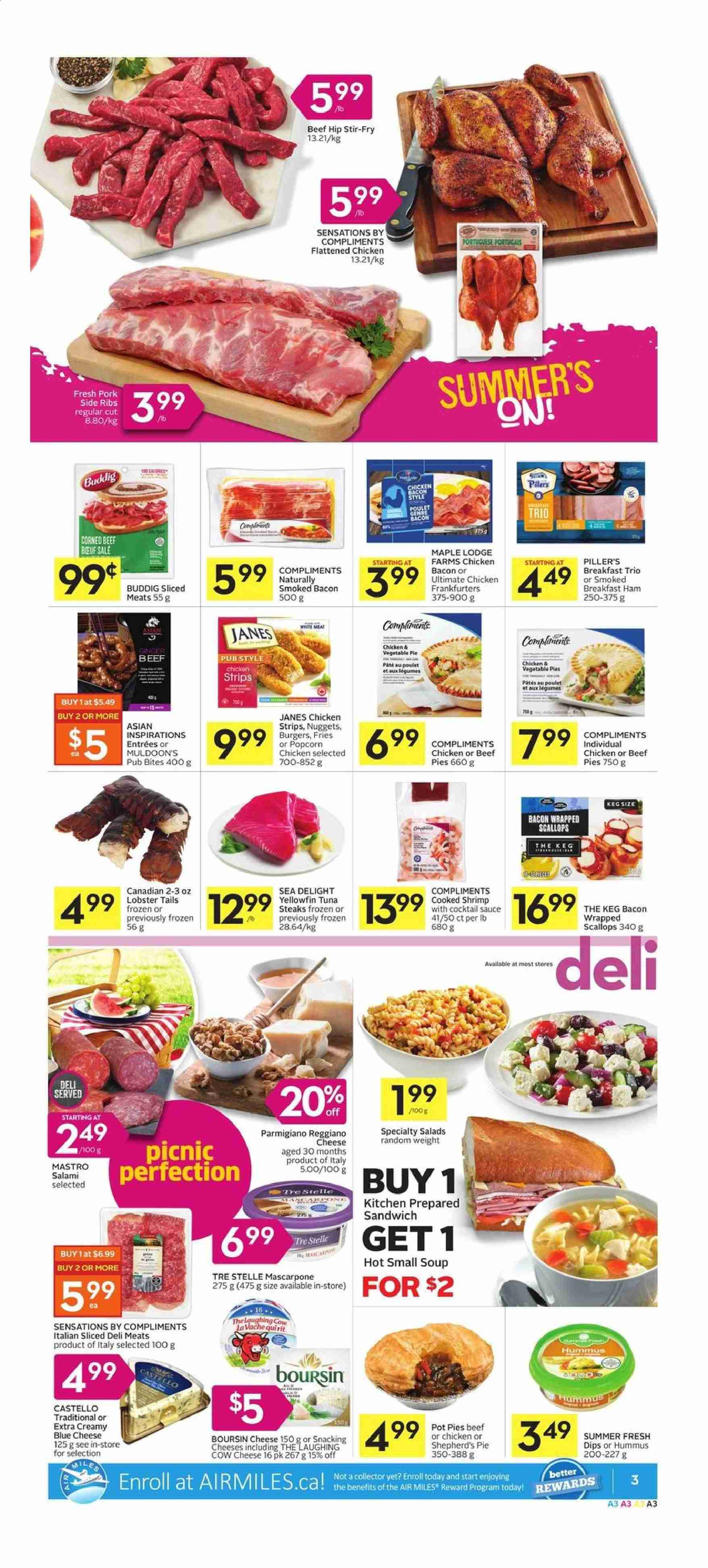 Foodland Flyer  - August 22, 2019 - August 28, 2019. Page 3.