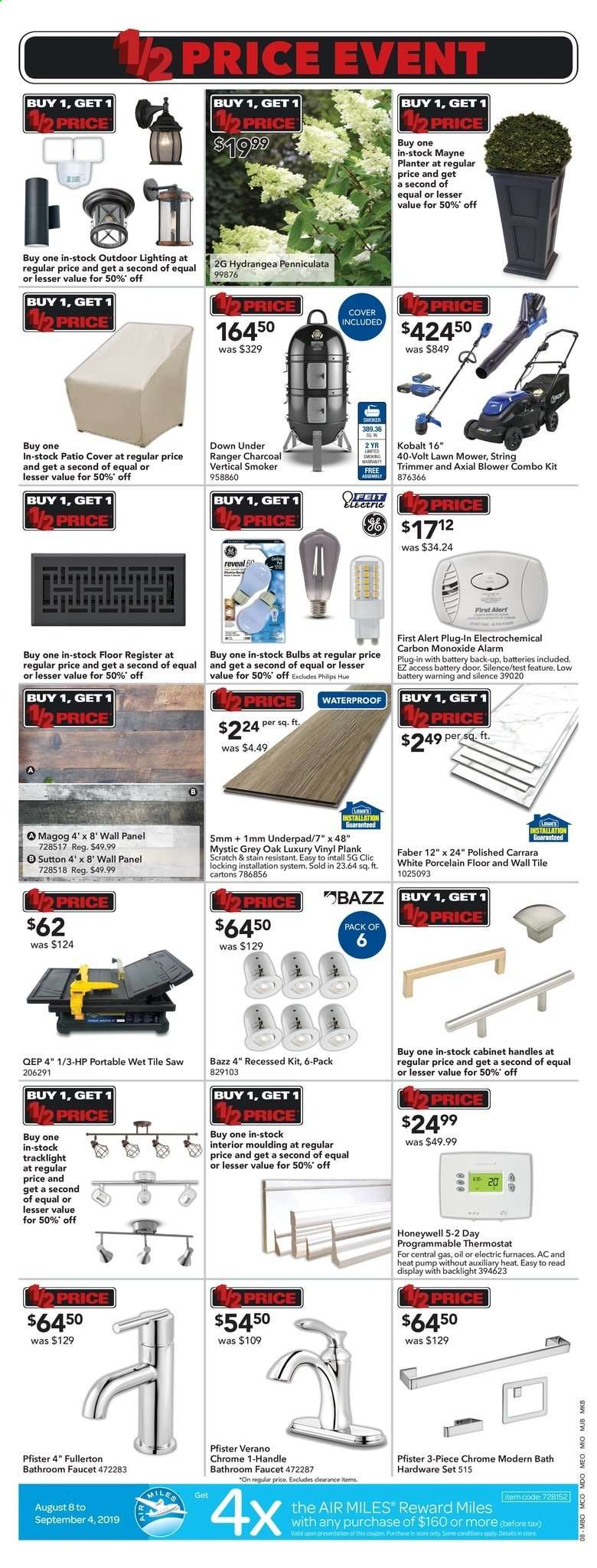 Current Lowe's flyer August 22, 2019 - August 28, 2019 | Ca