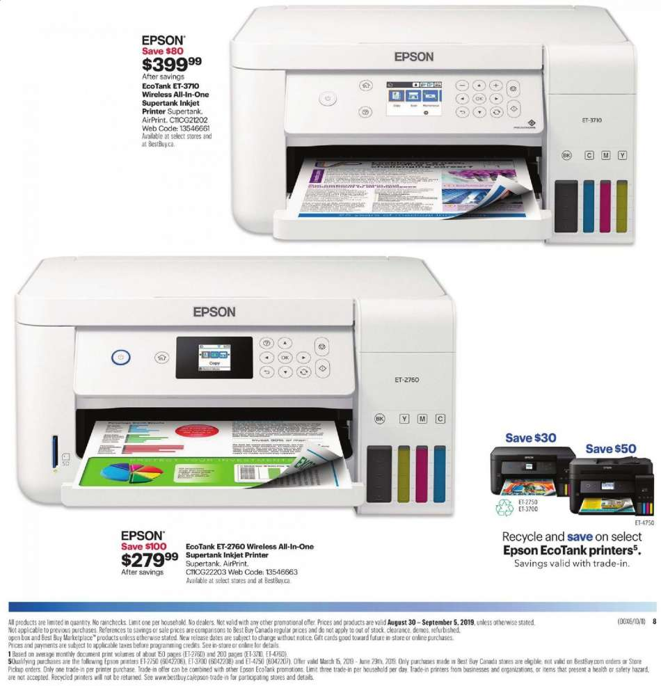 Current Best Buy flyer August 30, 2019 - September 05, 2019