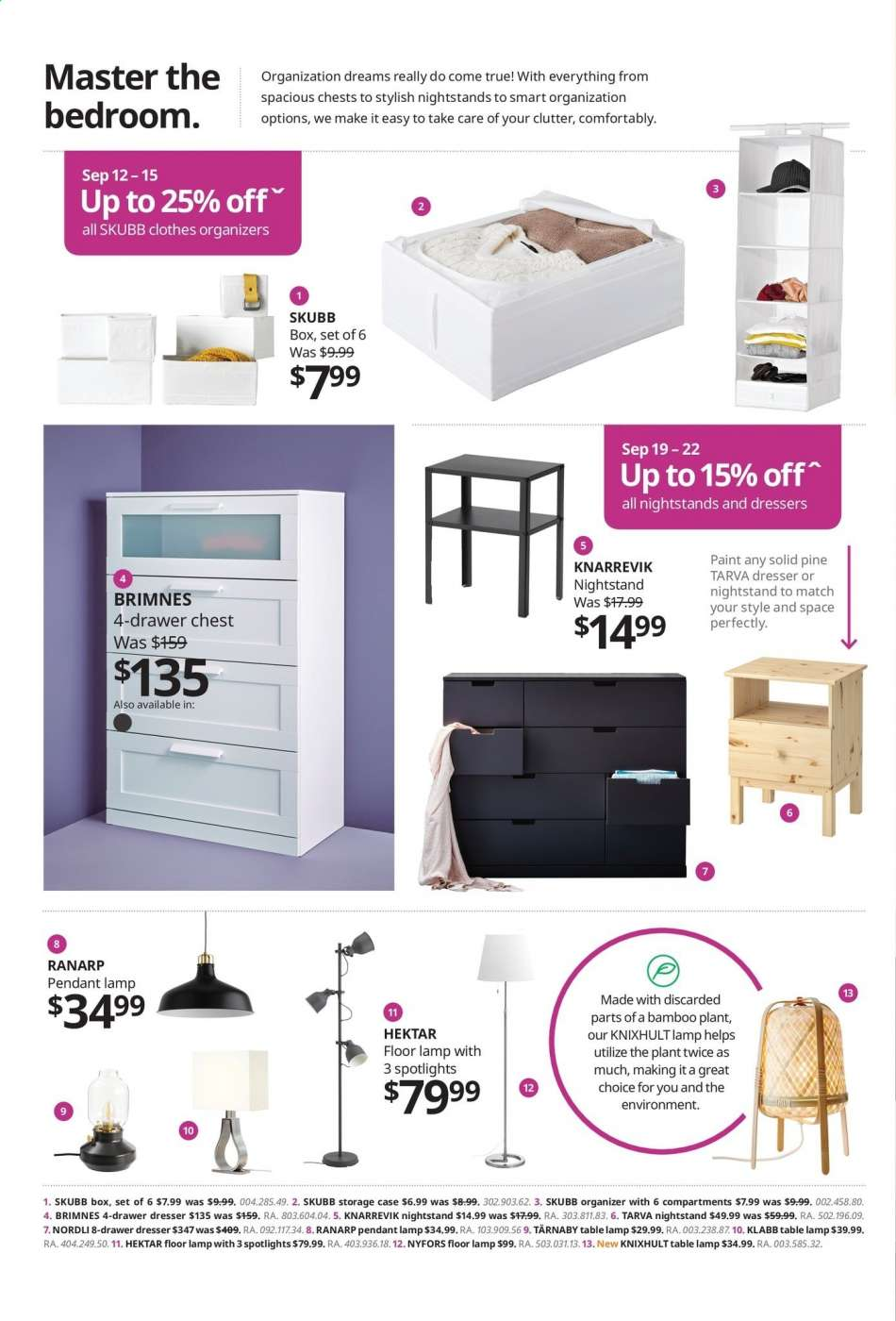 Current Ikea Flyer September 12 2019 September 30 2019