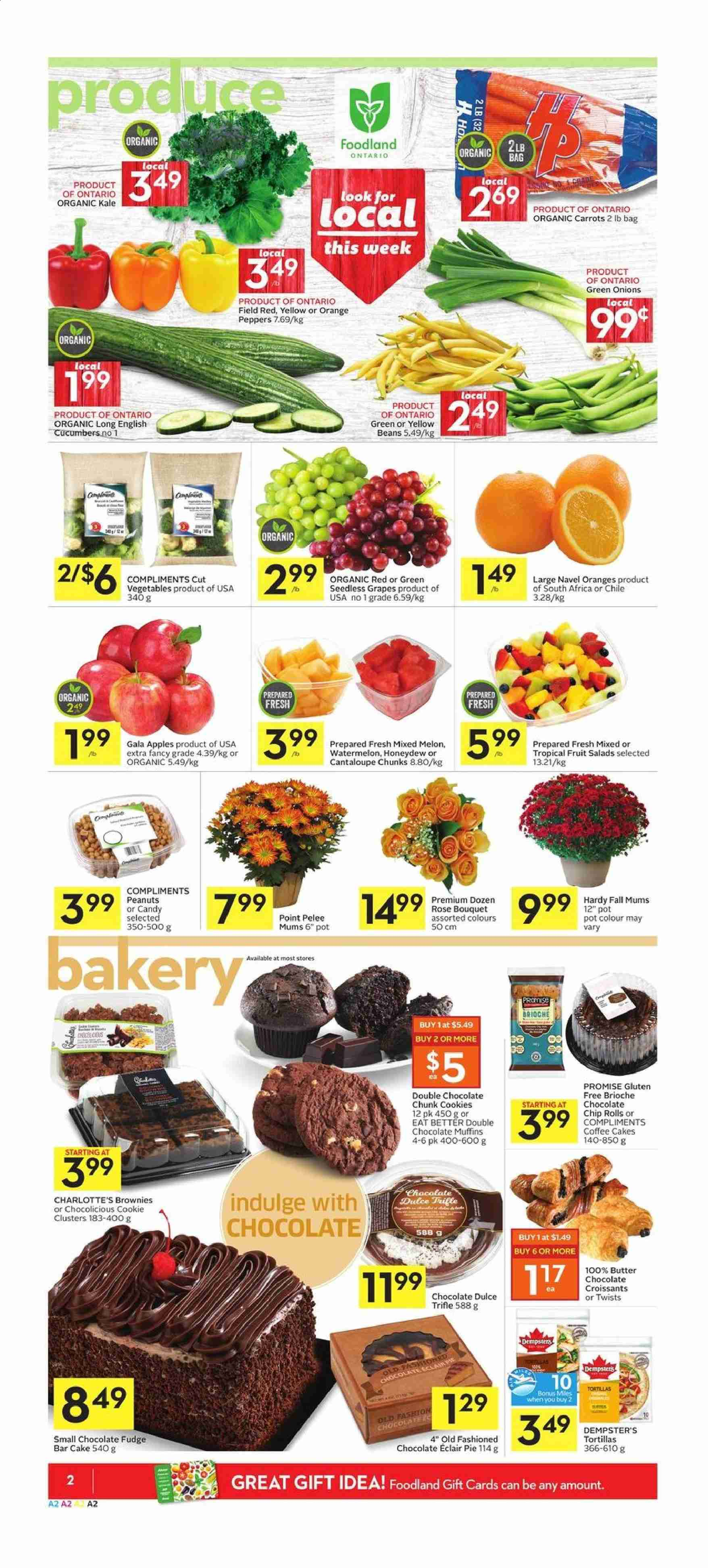 Foodland Flyer  - September 12, 2019 - September 18, 2019. Page 2.