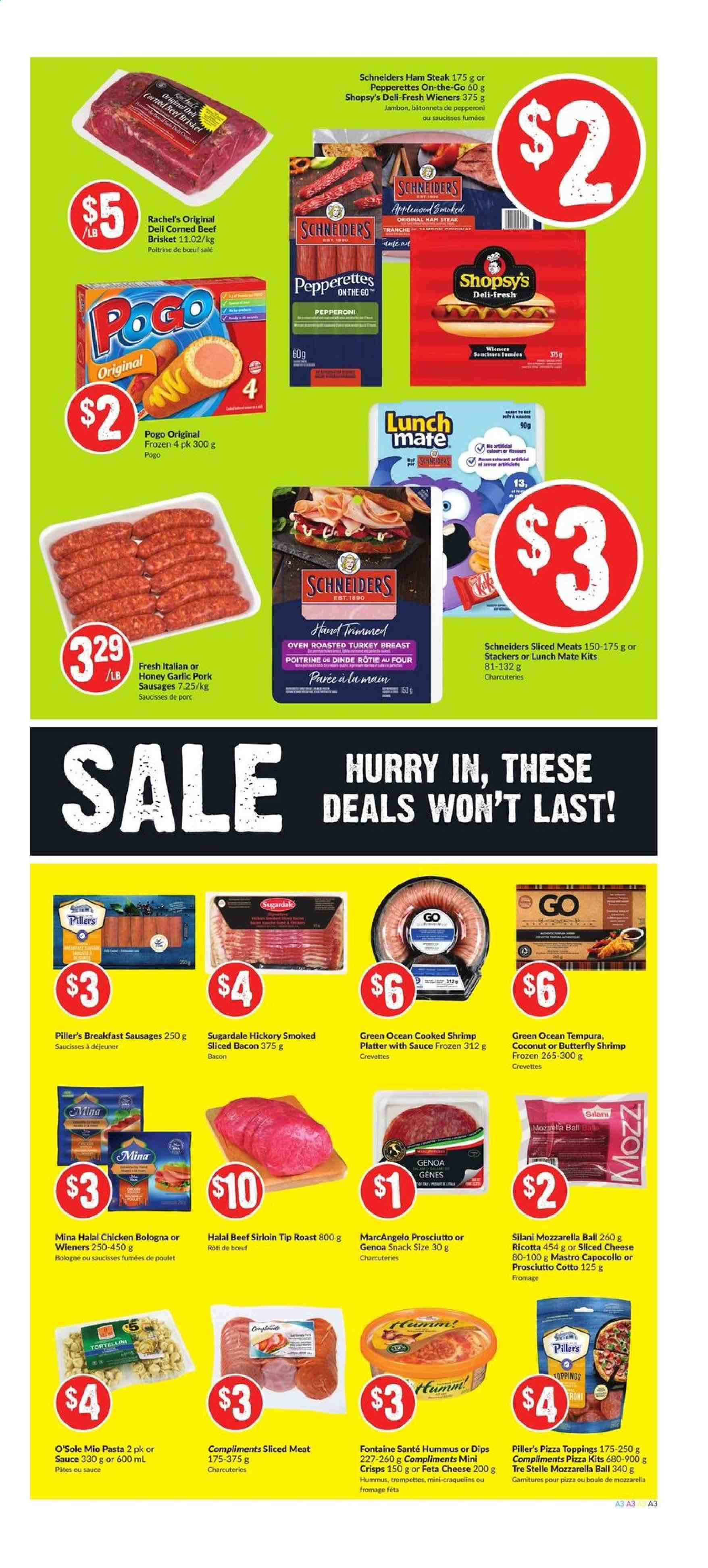 FreshCo. Flyer  - September 12, 2019 - September 18, 2019. Page 3.