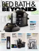 Bed Bath & Beyond Flyer - September 10, 2019 - October 14, 2019.