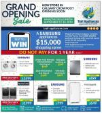 Trail Appliances Flyer - September 12, 2019 - September 18, 2019.