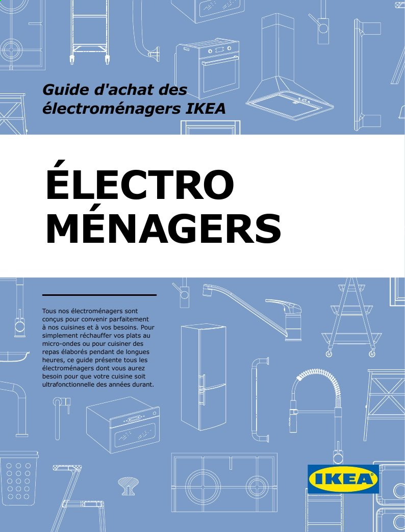 IKEA Flyer - Sales products - pendant, micro-ondes. Page 1.