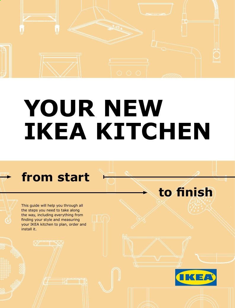 IKEA Flyer - Sales products - finish. Page 1.
