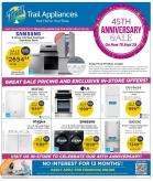 Trail Appliances Flyer - September 19, 2019 - September 29, 2019.