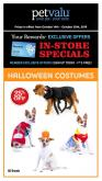Pet Valu Flyer - October 14, 2019 - October 30, 2019.