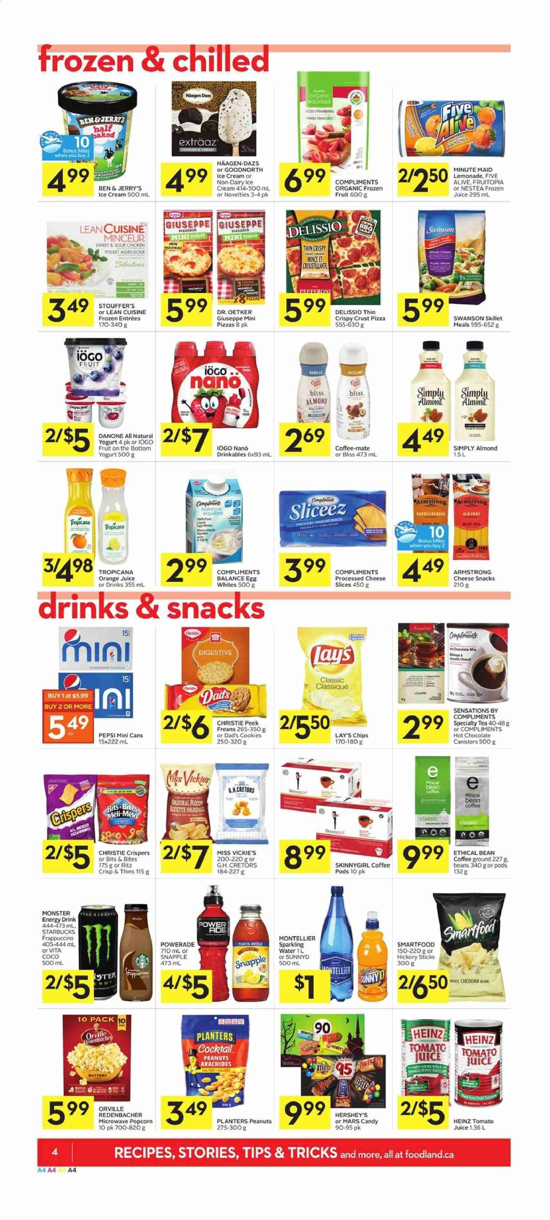 Foodland Flyer  - October 17, 2019 - October 23, 2019. Page 4.