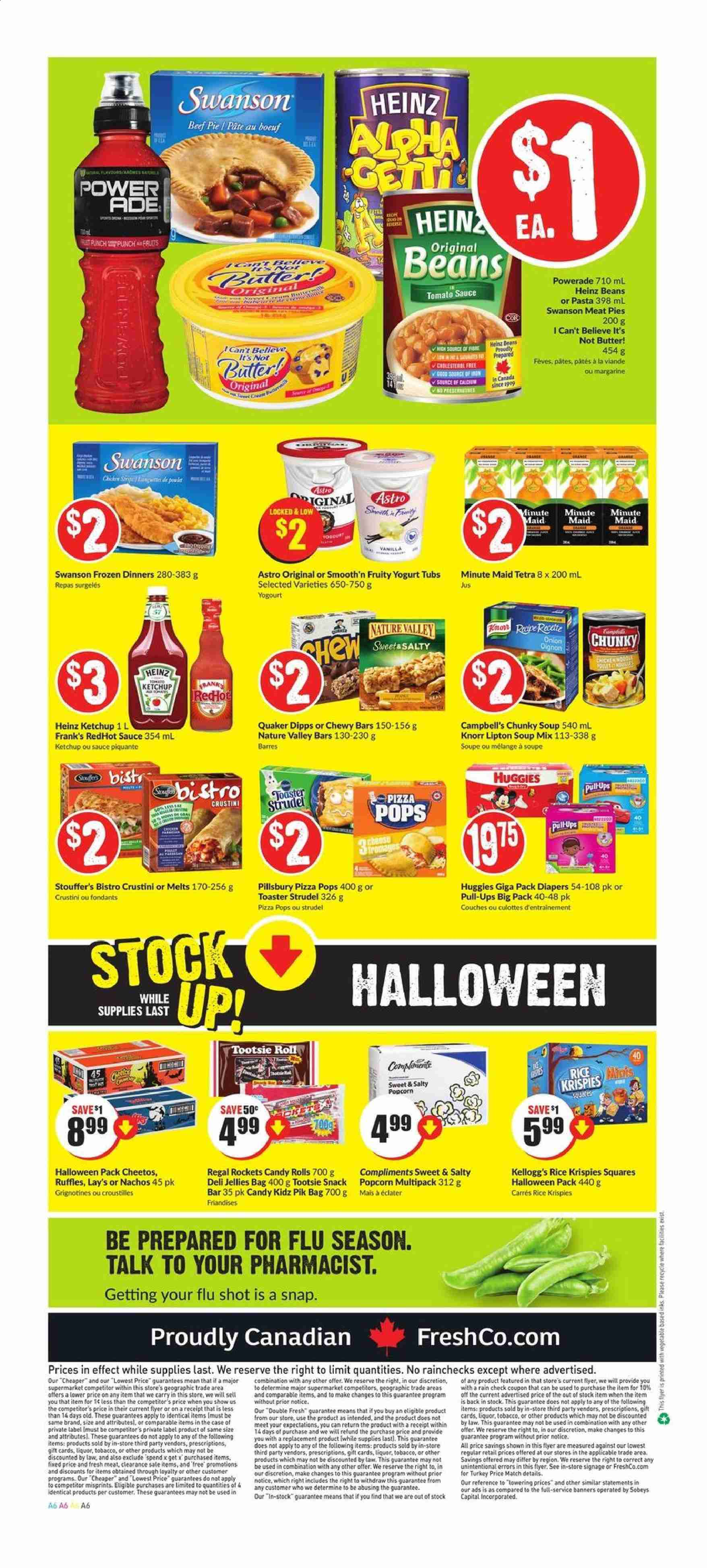 FreshCo. Flyer  - October 17, 2019 - October 23, 2019. Page 6.