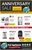 Trail Appliances Flyer - October 17, 2019 - October 27, 2019.