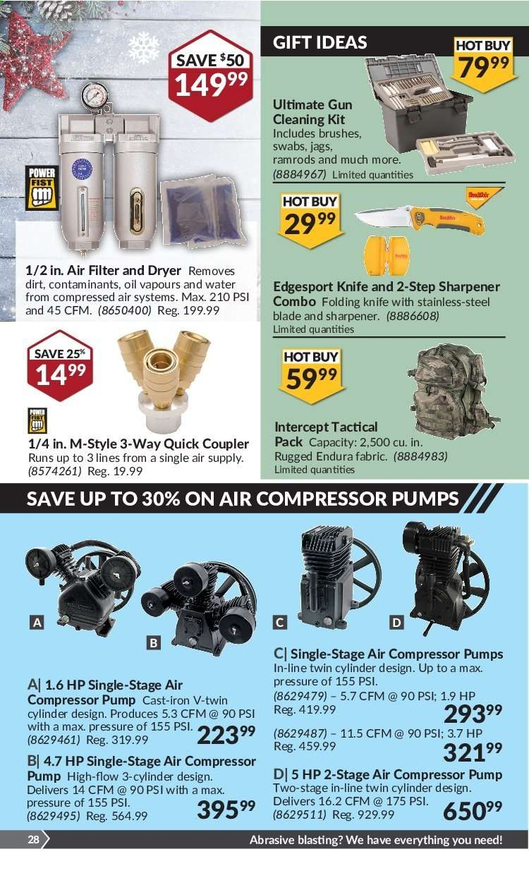14 CFM @ 90 PSI 3-Cylinder 1-Stage Air Compressor Pump