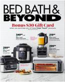 Bed Bath & Beyond Flyer - November 17, 2019 - January 06, 2020.