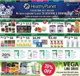 Healthy Planet Flyer - December 12, 2019 - January 15, 2020.