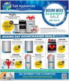 Trail Appliances Flyer - December 26, 2019 - December 31, 2019.