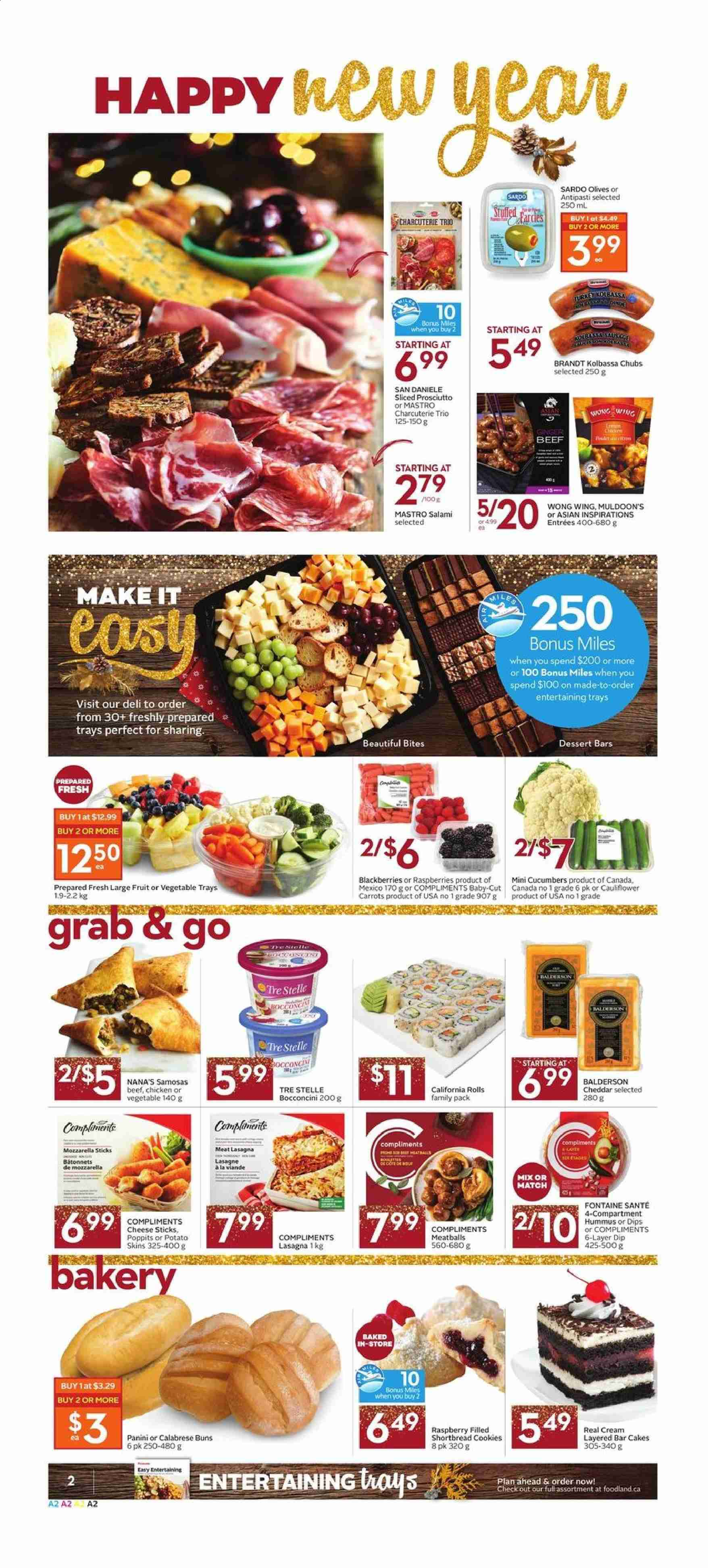 Foodland Flyer  - December 26, 2019 - January 01, 2020. Page 2.
