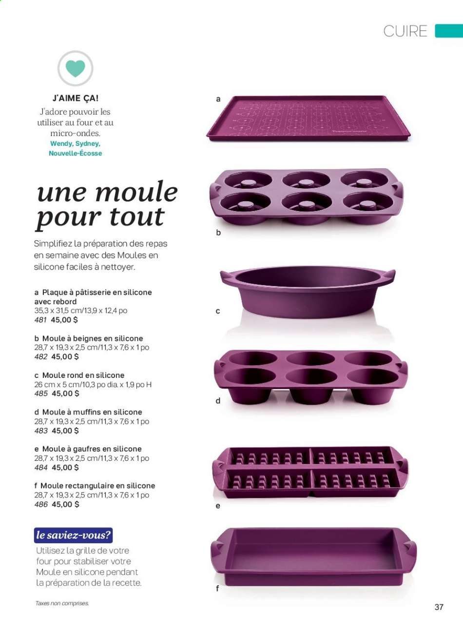 Current Tupperware Flyer Canadian Flyers