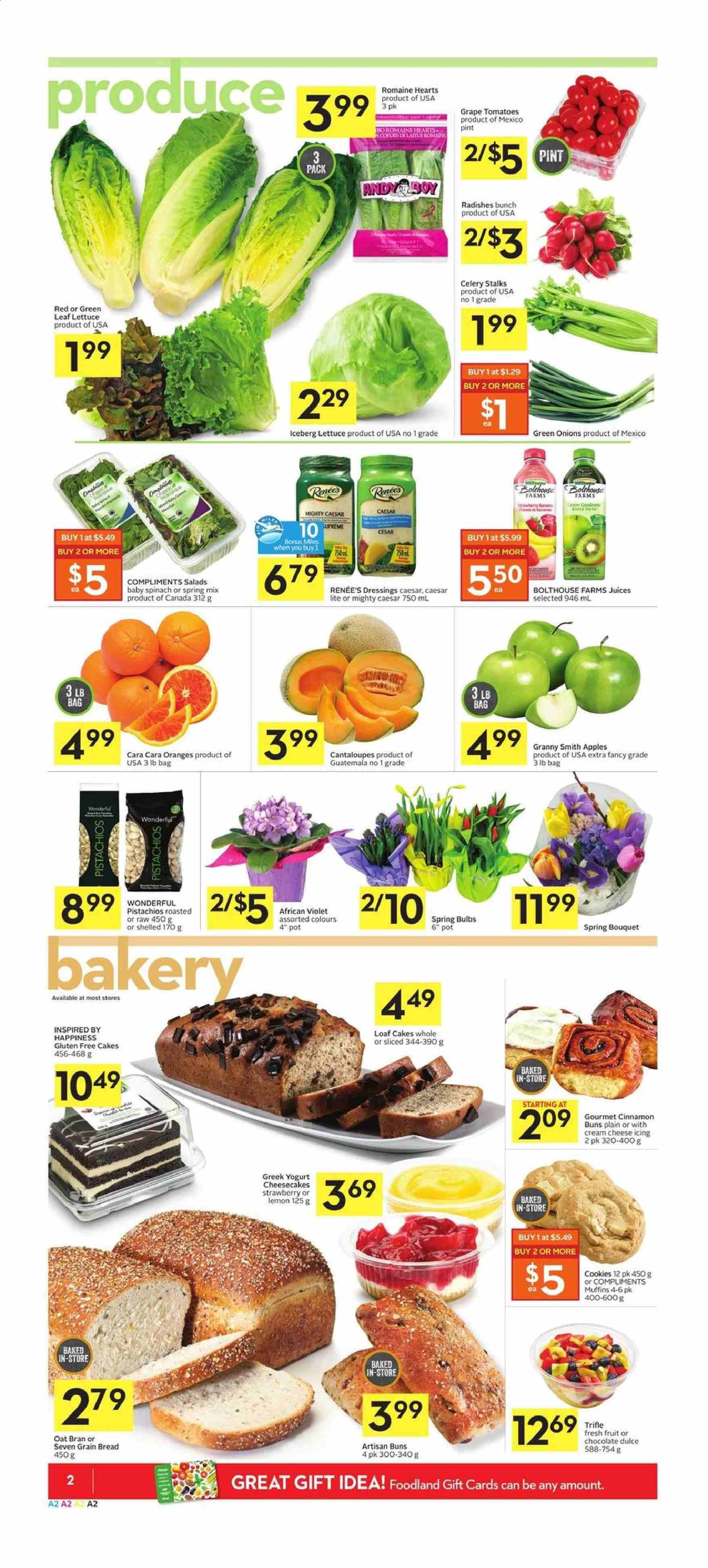 Foodland Flyer  - January 09, 2020 - January 15, 2020. Page 2.