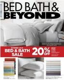 Bed Bath & Beyond Flyer - January 08, 2020 - February 24, 2020.