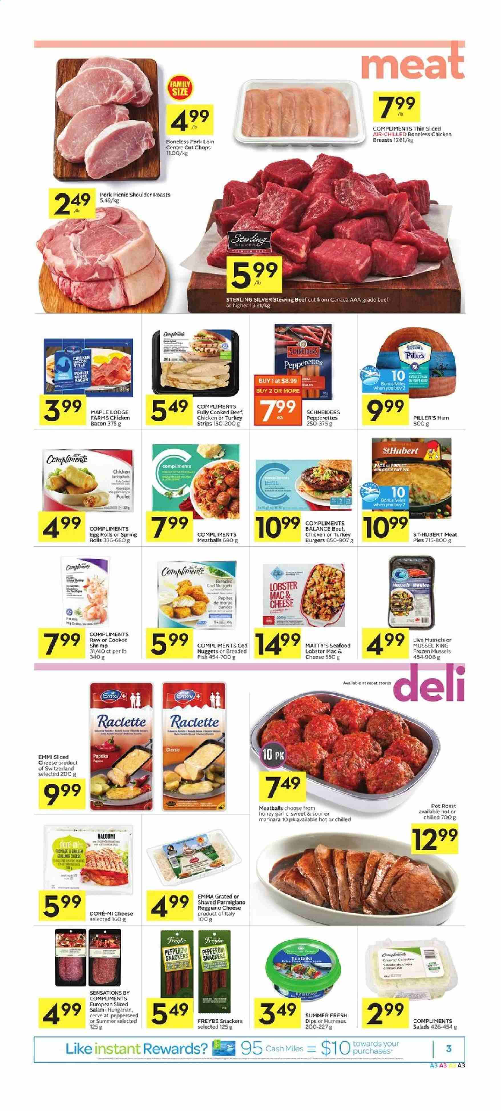 Foodland Flyer  - January 16, 2020 - January 22, 2020. Page 3.