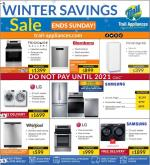 Trail Appliances Flyer - February 06, 2020 - February 09, 2020.