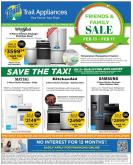 Trail Appliances Flyer - February 13, 2020 - February 17, 2020.