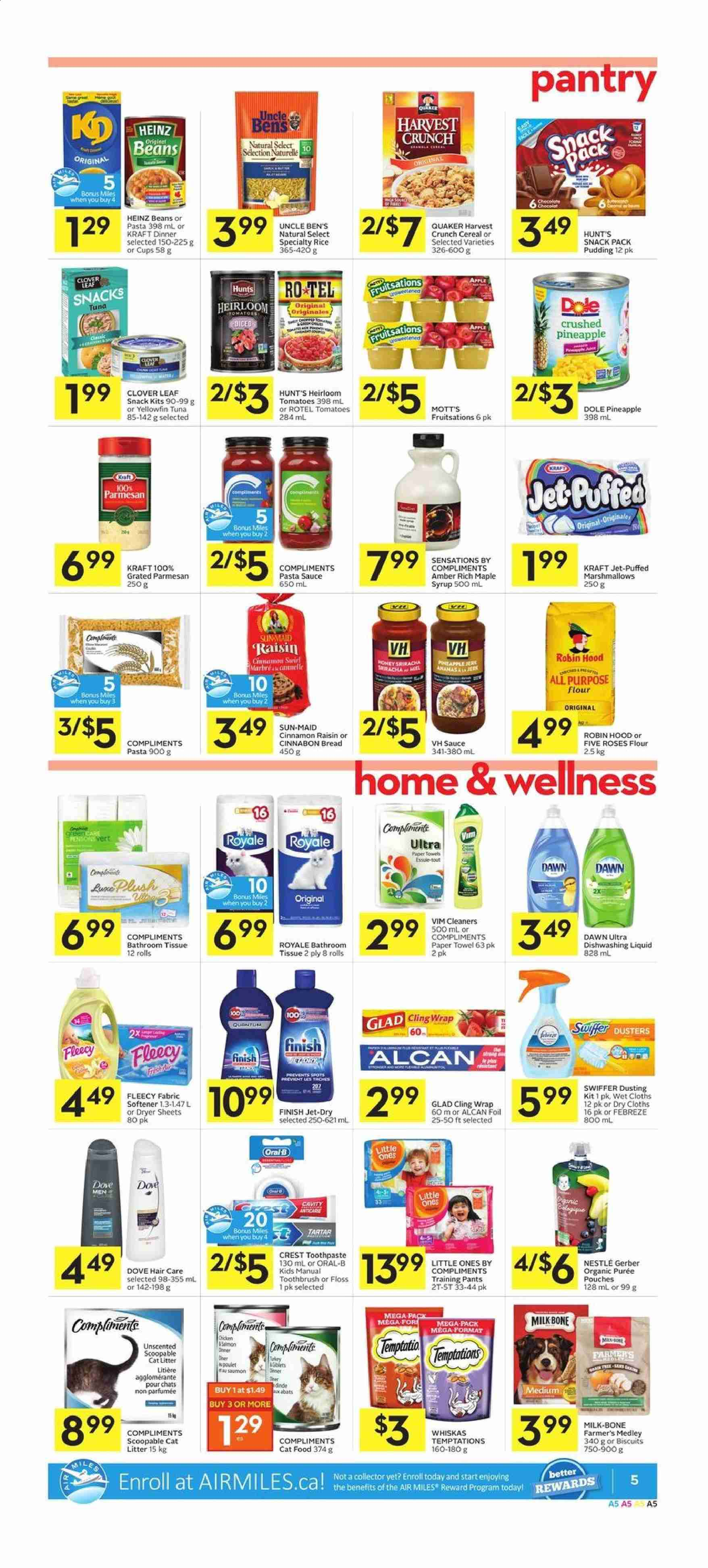 Foodland Flyer  - February 13, 2020 - February 19, 2020. Page 5.