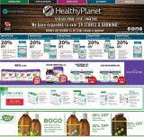 Healthy Planet Flyer - February 13, 2020 - March 11, 2020.