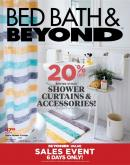 Bed Bath & Beyond Flyer - February 11, 2020 - April 06, 2020.