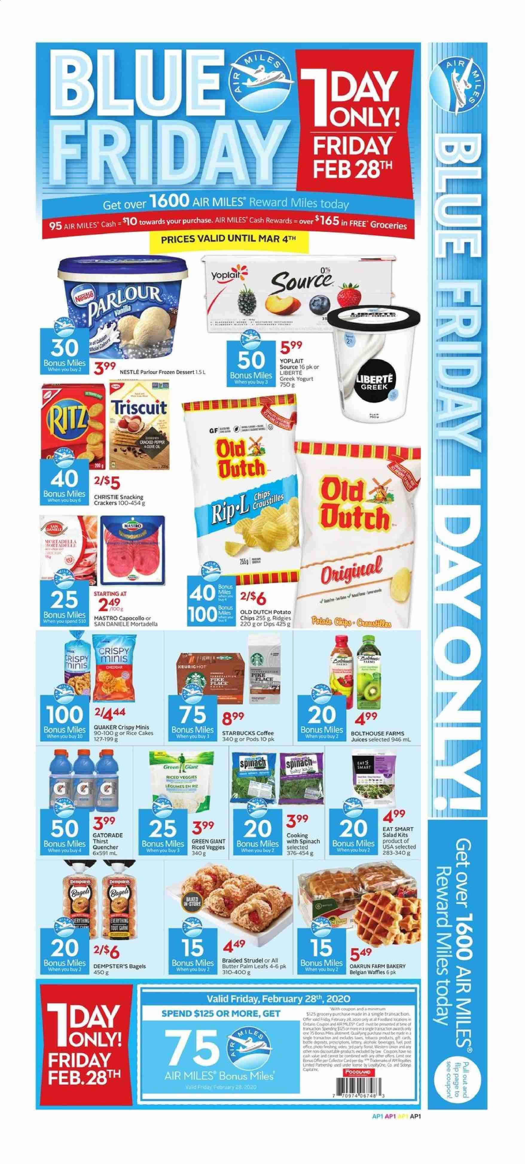 Foodland Flyer  - February 27, 2020 - March 04, 2020. Page 7.