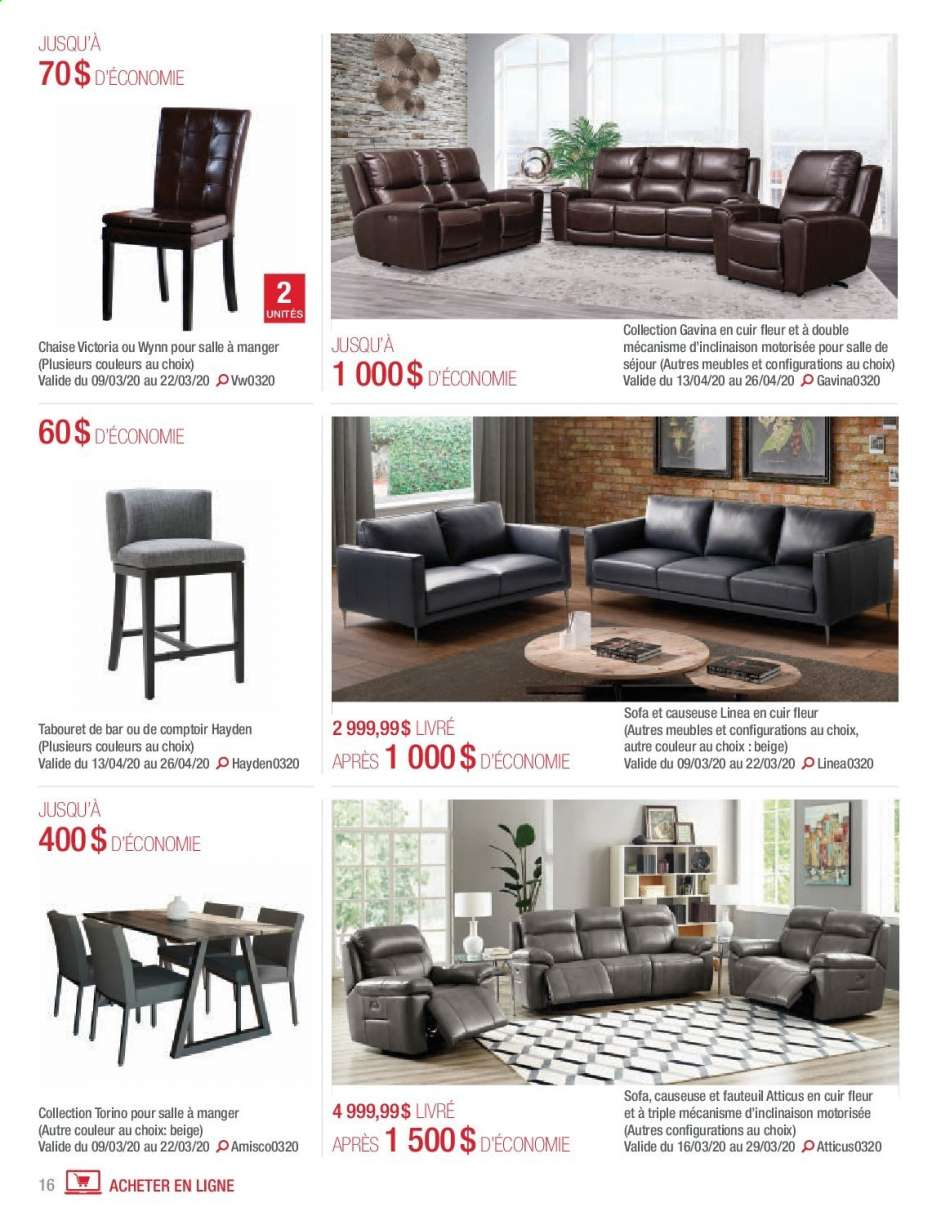 Chaises Salle À Manger Couleur current costco flyer march 01, 2020 - april 30, 2020