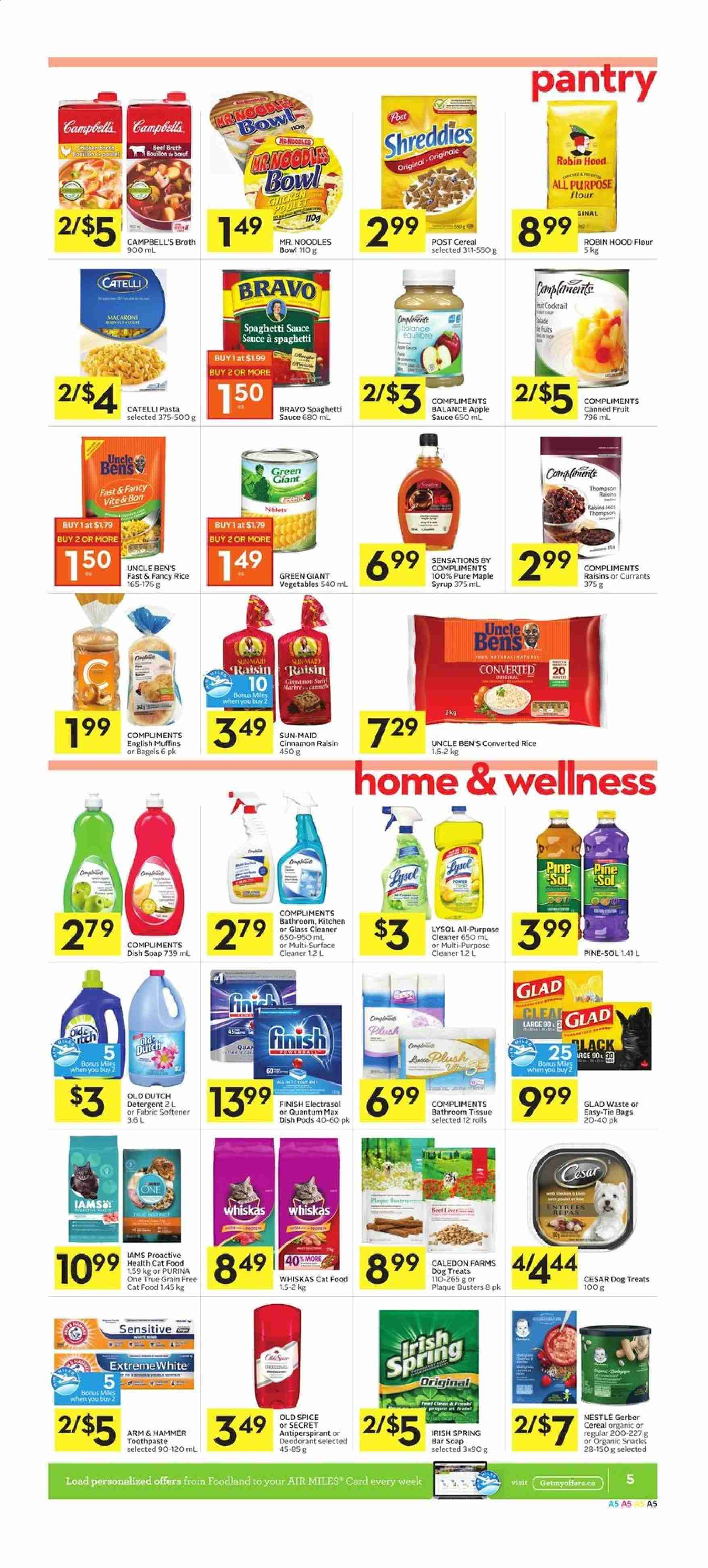 Foodland Flyer  - March 05, 2020 - March 11, 2020. Page 5.
