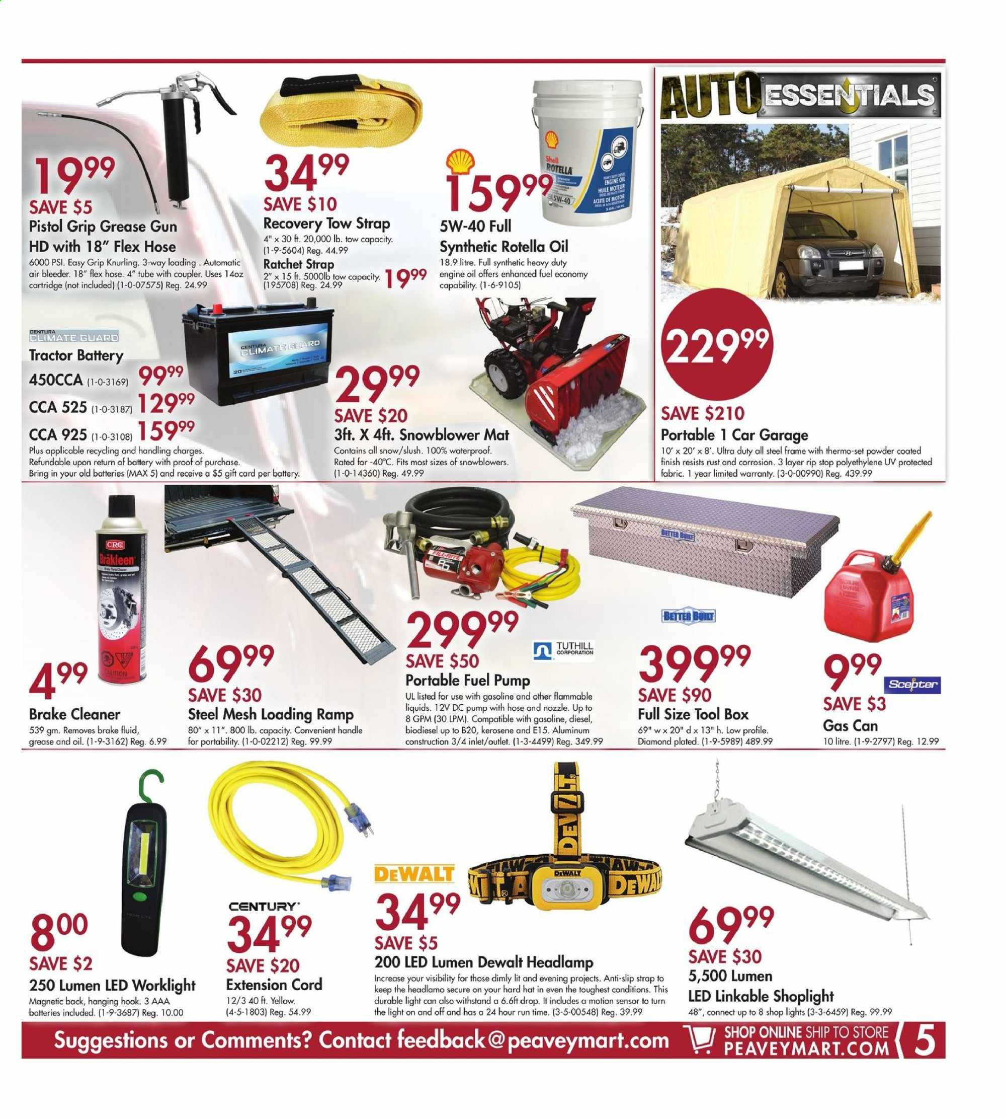 Peavey Mart Flyer March 05 2020 March 15 2020 Page 5 Canadian Flyers