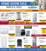 Trail Appliances Flyer - March 06, 2020 - March 09, 2020.