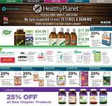 Healthy Planet Flyer - March 12, 2020 - April 15, 2020.