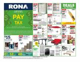 RONA Flyer - March 19, 2020 - March 25, 2020.