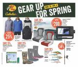 Bass Pro Shops Flyer - March 26, 2020 - April 08, 2020.