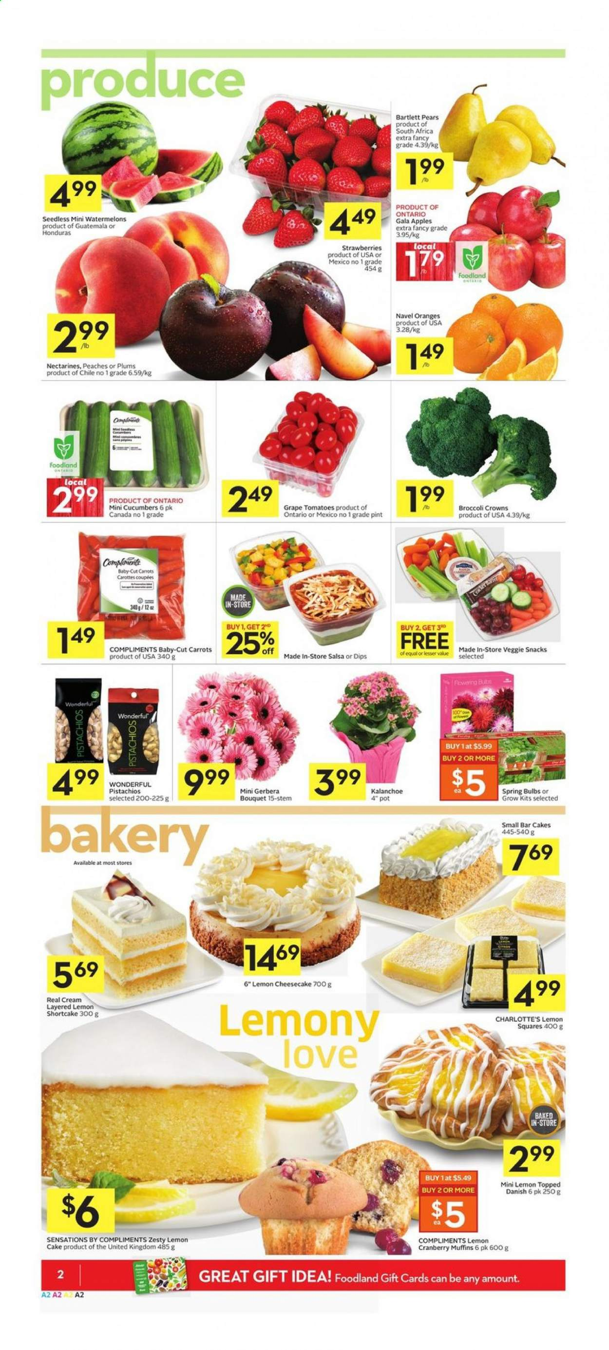 Foodland Flyer  - March 26, 2020 - April 01, 2020. Page 2.